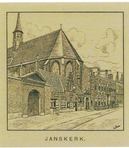 De vm. Janskerk, tegenwoordig in gebruik van het Noord-Hollands Archief