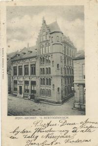 Vm. rijksarchief in 's-Hertogenbosch