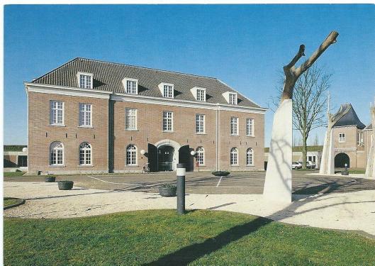 Vooraanzicht Citadel/Rijksarchief Den Bosch (foto M.Willems)