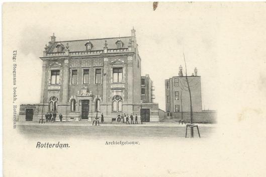 Vm. archiefgebouw Rotterdam