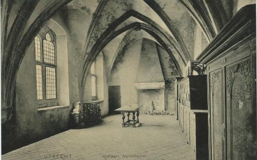 De Domkerk met archiefkamer in Utrecht