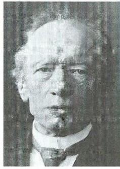 Portretje van archivaris C.J.Gonnet (1842-1926). In 1901 was hij medeoprichter van de Vereniging Haerlem.