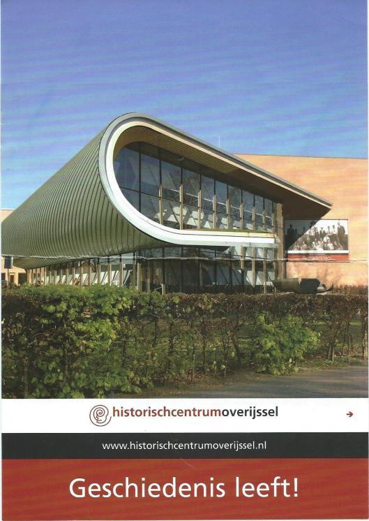 Nieuwe gebouw van het rijksarchief Overijssel: Historisch Centrum Overijssel in Zwolle