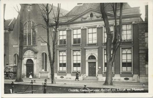 Stadsarchief en Librije (vm. stadsbibliotheek) Gouda