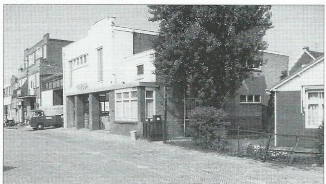 Heems na de verbouwing Kanaalweg 7 in 1970.