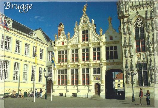 Links het Stadsarchief van Brugge