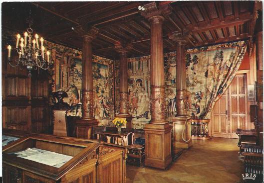 Archiefkamer in kasteel Gaasbeek