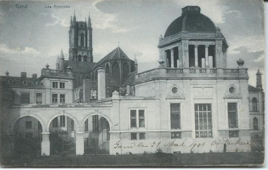 Archiefgebouw van de stad Gent