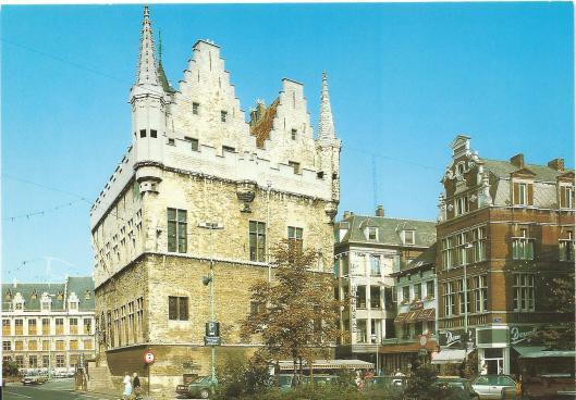 ansichtkaart van stadsarchief Mechelen
