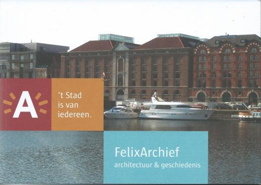 Vooromslag van boek over FelixArchief Antwerpen