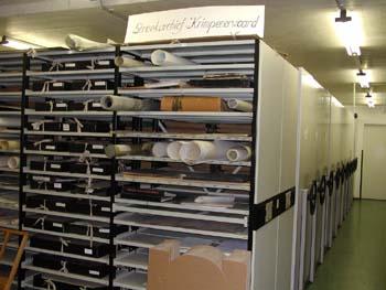 Interieur archief Krimpenerwaard, Schoonhoven