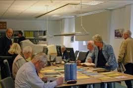 Studiezaal gemeentearchief Schouwen-Duiveland
