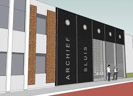 Ontwerp nieuwbouw archief gemeente Sluis te Oostburg