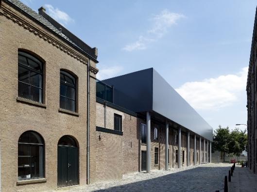 Archiefgebouw bij Audax Textielmuseum in Tilburg