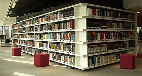 Deel van (Buma-)bibliotheek in Tresoar, Leeuwarden