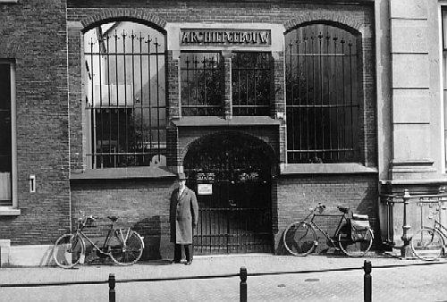 Voormalig archiefgebouw Utrecht aan de Drift Utrecht, 1959