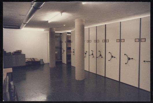Archiefdepot in gemeentehuis van Wageningen