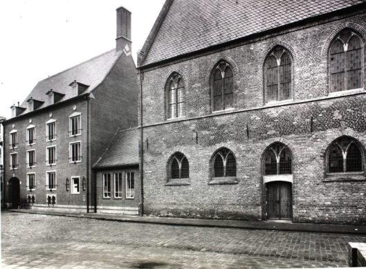 Foto uit circa 1965 van Museum en Archiefgebouw Zutphen