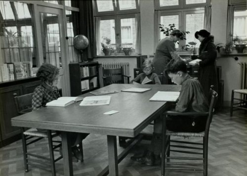 Kinderleeszaal van het Nut (foto Wiel van den Randen)