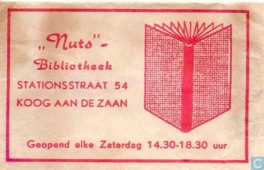 Suikerzakje Nutsbibliotheek Koog aan de Zaan