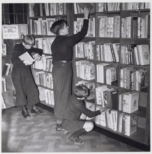 Nutsbibliotheek Wijdesteeg