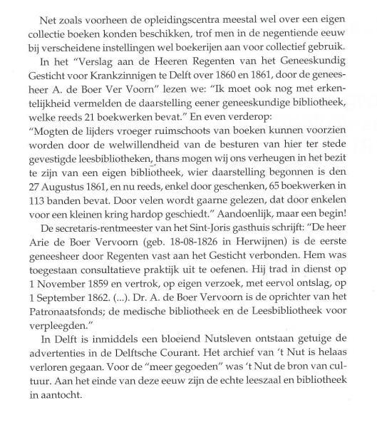 Vervolg van historie nutsbibliotheken in Delft.