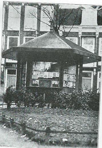 In Utrecht beschikte het Nutsdepartement voor WOII over een openbare lectuurkiosk.
