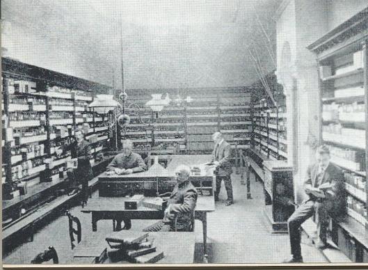 De volksleesbibliotheek van 't Nut in Rotterdam, 1910
