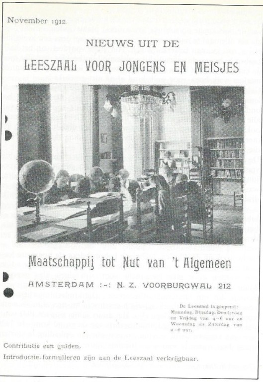Nieuwsblad Nut, november 1912