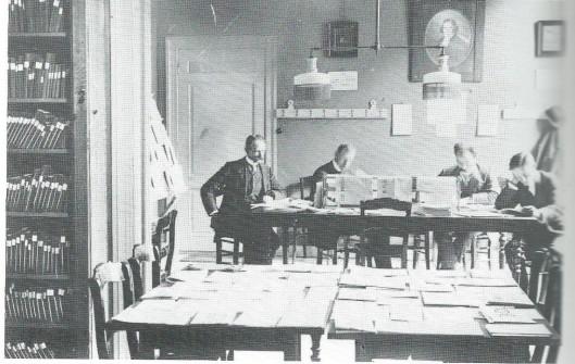 Bibliotheek en leeszaal van het Nut in Schoonhoven