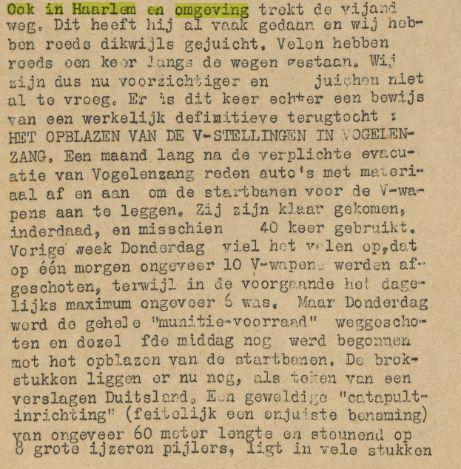 Als eerste berichtte het in Heemstede verschenen blad 'De Patriot