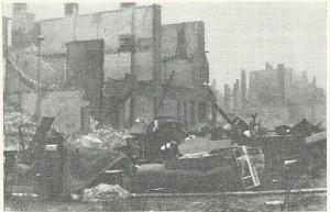 In de avond van de dag dat Den Haag zwaar geteisterd werd door het geallieerde bombardement van 3 maart 1945, werd de Schiestraat getroffen door een mislukte V 2