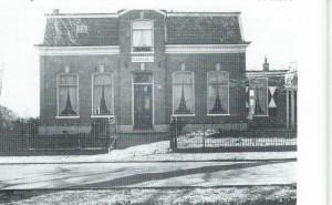 De Mariahof, Kerklaan 115 voor de verwoesting. In 1921 gebouwd huis in opdracht van H.J.Ph.Peeperkorn naar een ontwerp van architect Doeglad. In 1950 is op deze plaats een nieuw huis gebouwd.
