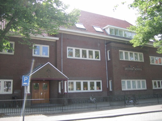 De Jacobaschool aan de Lanckhorstlaan in Heemstede (2015)