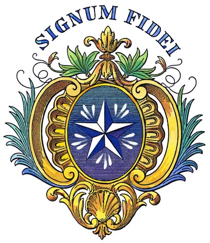 Embleem van het instituut van de broeders der christelijke scholen.