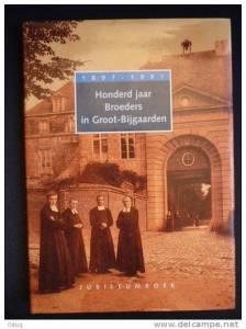 Vooromslag gedenkboek 100 jaar Groot-Bijgaarden 18897-1997