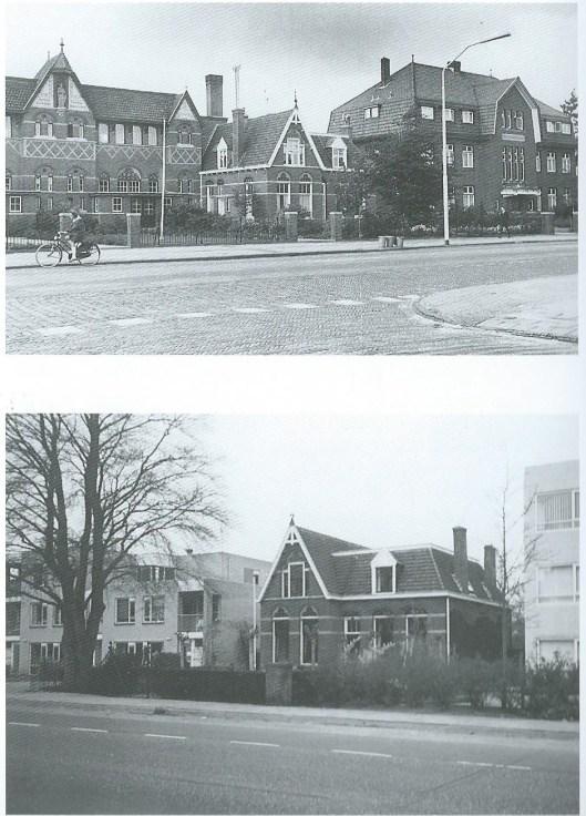 Tussen Jozefschool en Broederhuis, situatie toen en nu