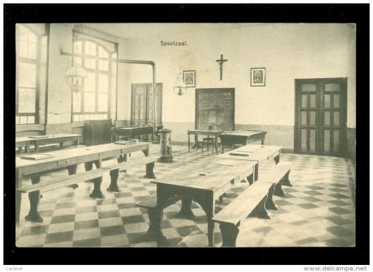 Prentbriefkaart van het noviciaat in Baarle Nassau