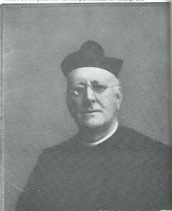 Portret van pastoor Henricus IJzermans die de broeders van de christelijke scholen naar Heemstede haalde.