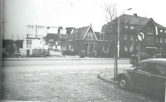 Tijdens de afbraak van de Sint Jozefschool in Heemstede