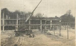 Tijdens de bouw van een nieuwe pedagogische academie voor De La Salle