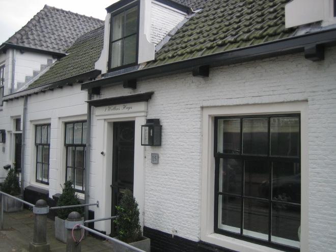 Het 'Wolbershuis' aan de Zandvaart/Kerklaan Heemstede