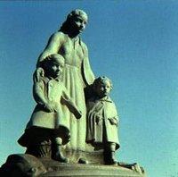 Ontwerp sculptuur op Conradbrug, Laan van Meerdervoort Den Haag, door Dirk Wolbers, 1937