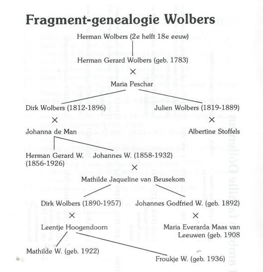 Fragmentgenealogie Wolbers