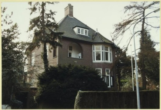 Huis aan J.P.Thijsselaan, ontwero van Johannes Wolbers, 1911.
