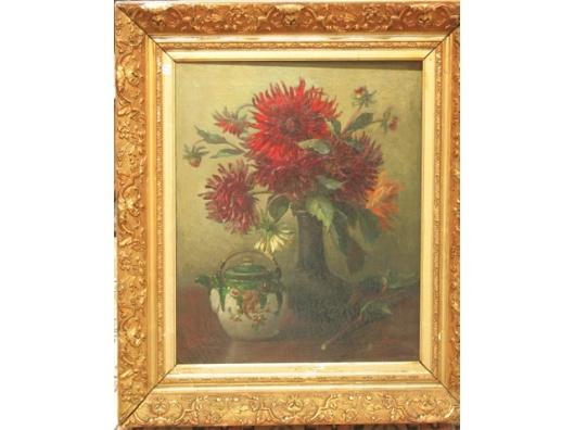 Lucien Manceau: bloemstilleven