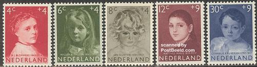 Hartzkinderpostzegeld 1957