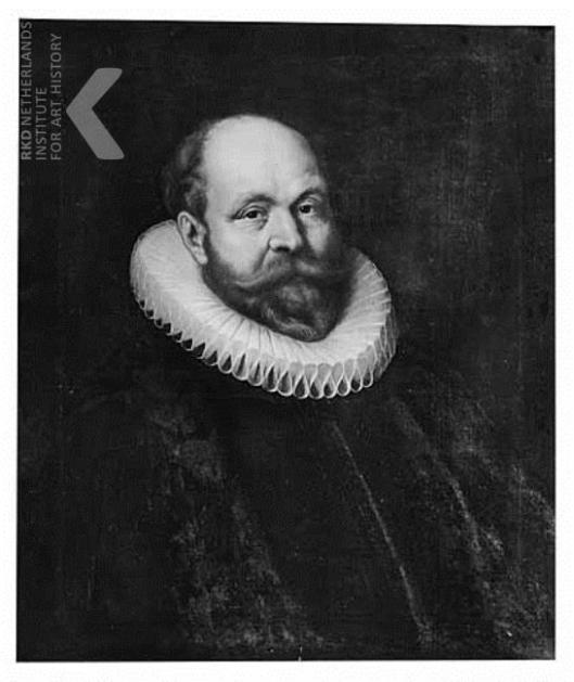 Pieter Gerritsz. van Ruytenburch (vader van Anna) RKD-Iconografisch Bureau