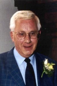 Foto portret van de heer M.A.Struijs (stadsarchief Vlaardingen)