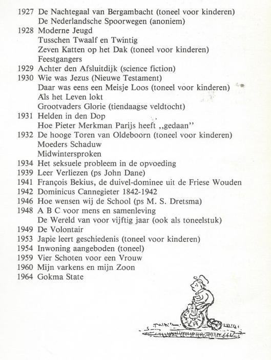 Vervolg bibliografie H.G.Cannegieter (2)